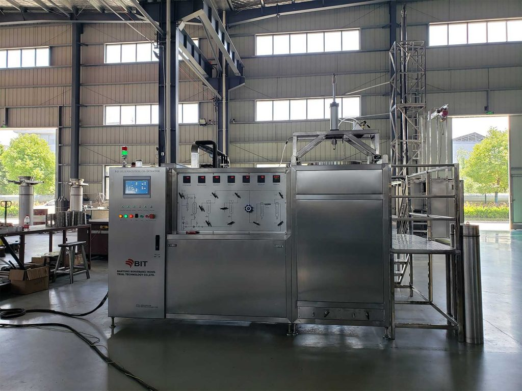 herbal oil supercritical CO2 extraction machine