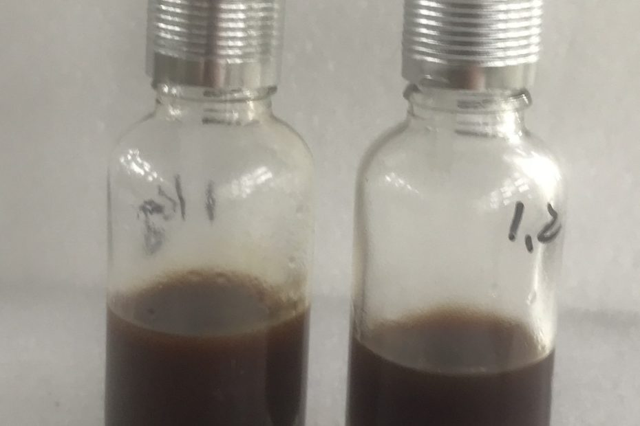 Supercritical CO2 extraction of amber essential oil