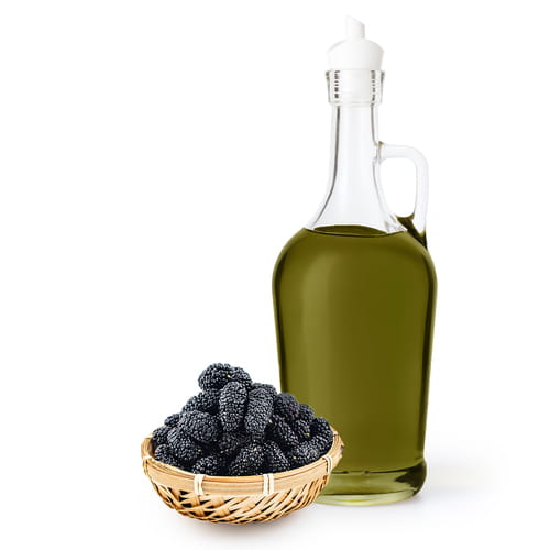 Supercritical CO2 fluid extraction of blackberry seed oil