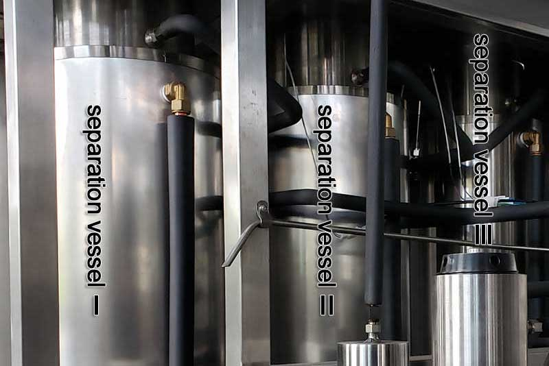 Entrainer system of supercritical CO2 extraction machine