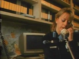 This random police phone operator is on screen about as much as the main character.