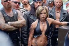 We're here to wear leather and show skin and we've all run out of leather!