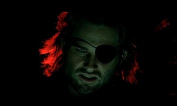 """Plissken? Plissken, what are you doing?"" ""Playing with myself! I'm going in."""