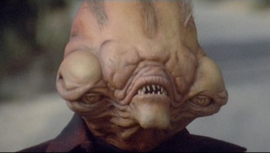 Never trust an alien who's mouth is above its eyes. Trust me on this one, you'll thank me later.