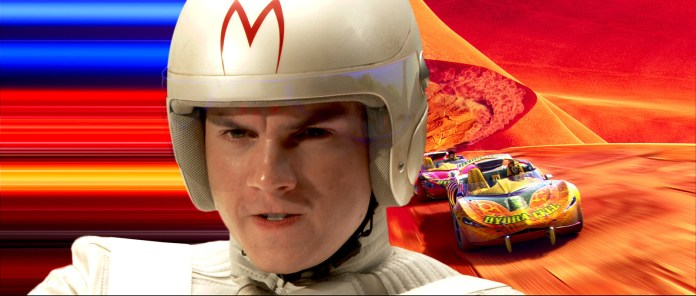 To the right, the race, to the left, a sweet acid trip! Which one will Speed chose? Find out on the next episode of Speed Racer!