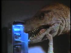 Yes, that's right...dinosaur gloves for the scene when the t-rex needs to make a collect call.