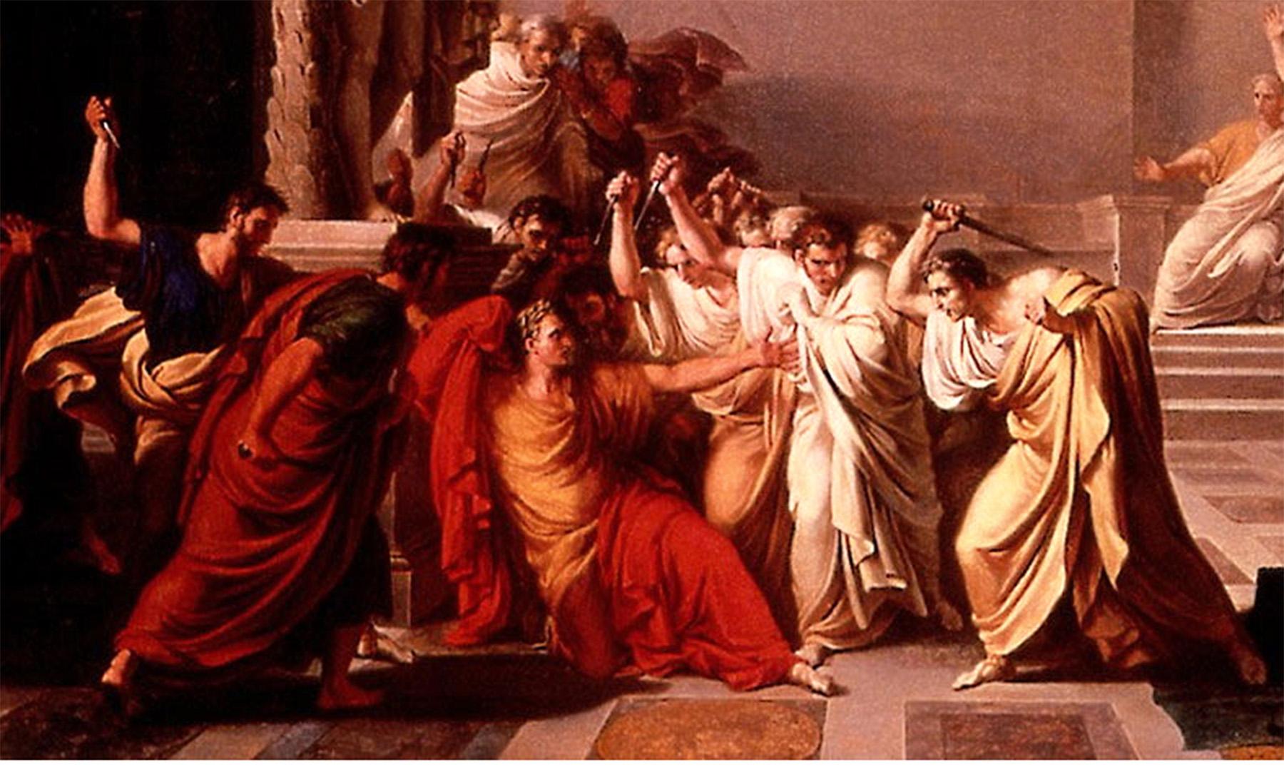Resultado de imagen de asesinato de julio cesar