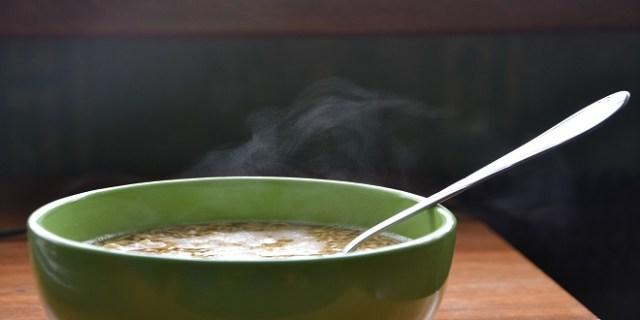 Sopa caliente - Supercurioso