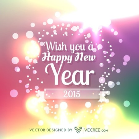 20  Free New Year Greeting Templates and Backgrounds   Super Dev     Happy New Year Vector Background