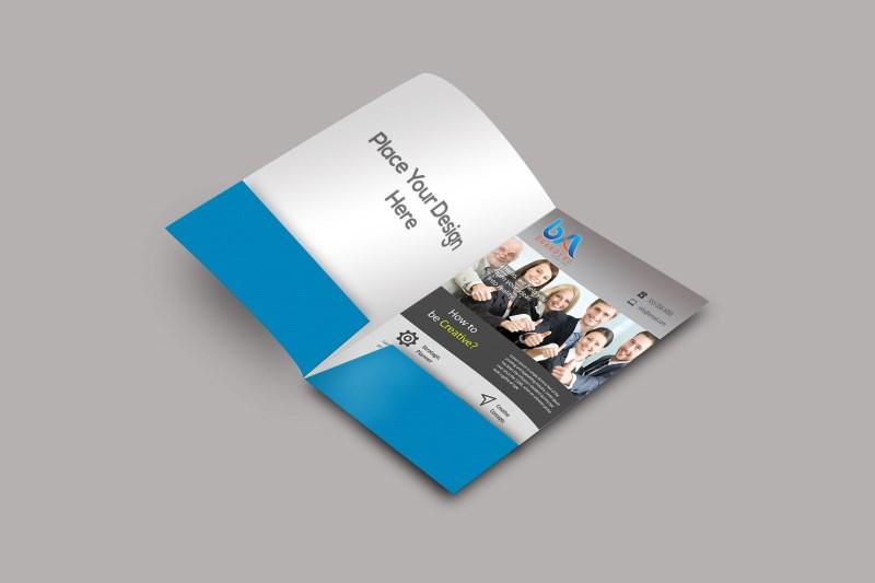 15 Free Presentation Folder Mockup Design Templates