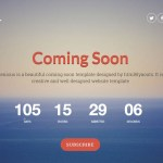 25 Best Coming Soon HTML Templates for Free Download and Premium