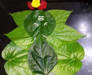 Vinayagar Chathurthi_leaf