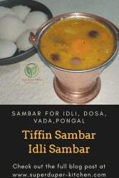 Tiffin / Idli Sambar_pin