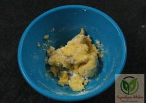 butter sugar
