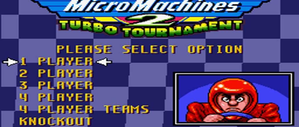 Micro Machines 2 Turbo Tournament