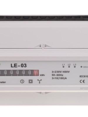 (LE-03) Stromzähler für Hutschiene
