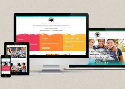 The Learning Tree Somerset – Website design and newsletter incorporation