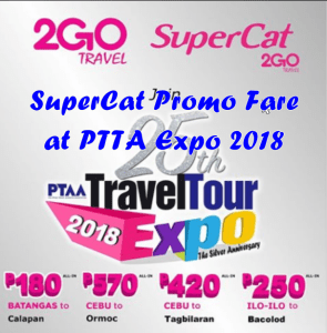 SuperCAt Promo Fare at PTTA 2018