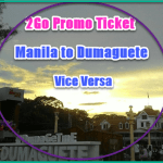 Ready! 2Go! Promo Ticket Manila to and from Dumaguete