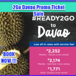 2Go Davao Promo Rate