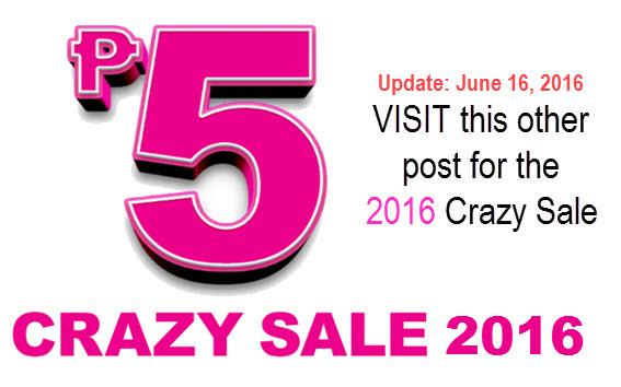 2Go 5 Pesos Crazy Sale 2016