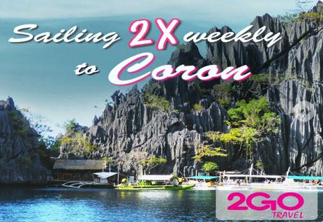 2Go Superferry Manila to Coron Palawan Promo 2016