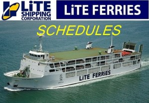 Lite Ferries Corporation Schedule Contact Numbers