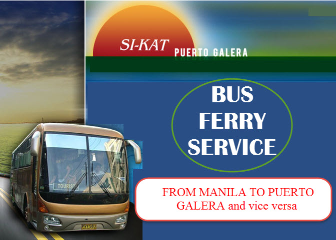 SiKat Bus Ferry Manila to Puerto Galera