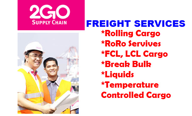 2Go RoRo Rolling Cargo Freight Services