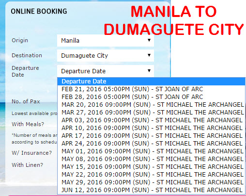 2GO TRAVEL SCHEDULES 2016 – MARCH, APRIL, MAY, JUNE to select ...