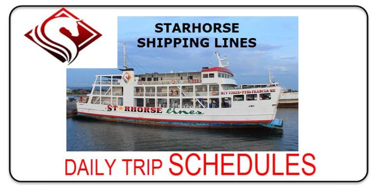 Starhorse Shipping Line Dalahican to Balanacan Port