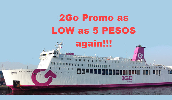 2Go Travel Promo October November December
