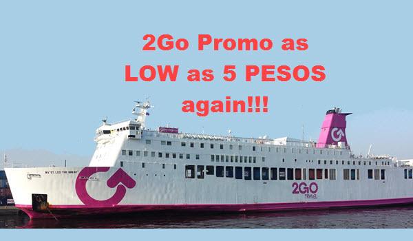 2Go Travel Promo October November December