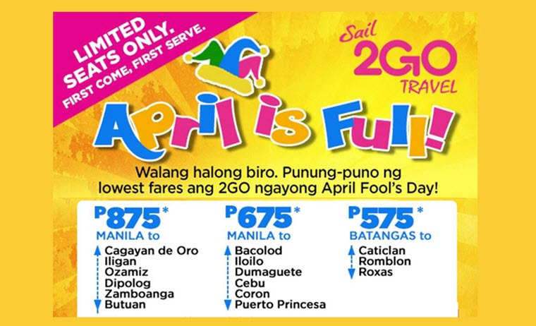2go promo june july august september 2017