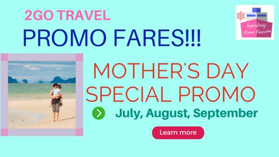 2go travel promo july august september 2018