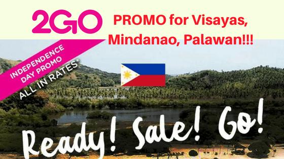 2go PROMO for Visayas, Mindanao, Palawan