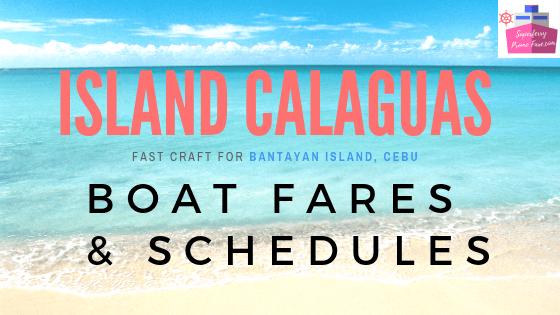 island calaguas bantayan fast craft