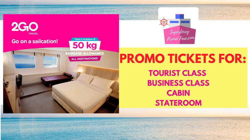 2go travel promo cabin tourist class