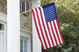estate us flag set