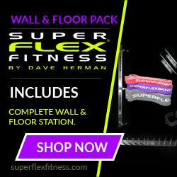 SuperFlex Wall & Floor Training Station