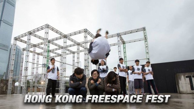 Parkour, Freerunning, Hong Kong Freespace Fest