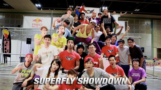 superfly showdown Singapore's First Parkour Challenge