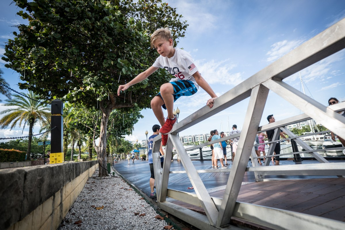 Sentosa Cove Village Parkour