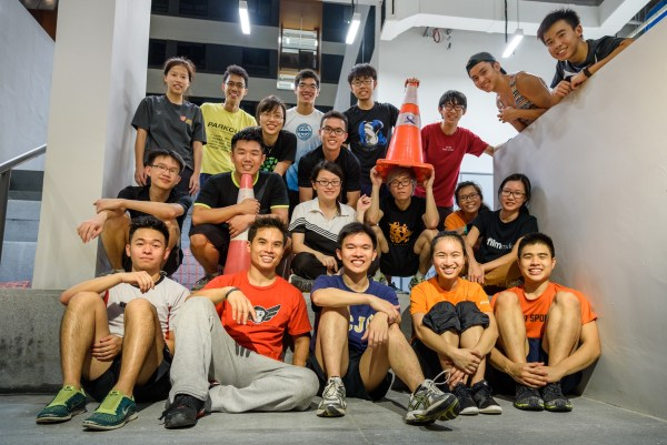 Superfly SUTD Parkour Introductory Workshop
