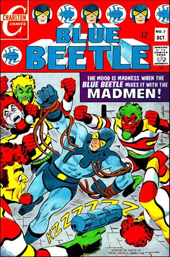 Blue Beetle Vs the Madmen