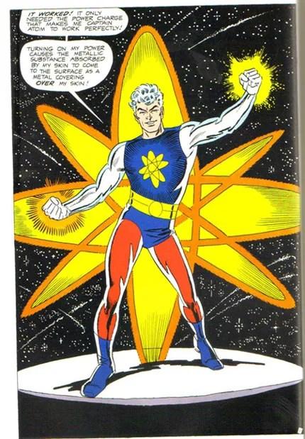 Captain Atom transforms and his powers are reinvigorated!