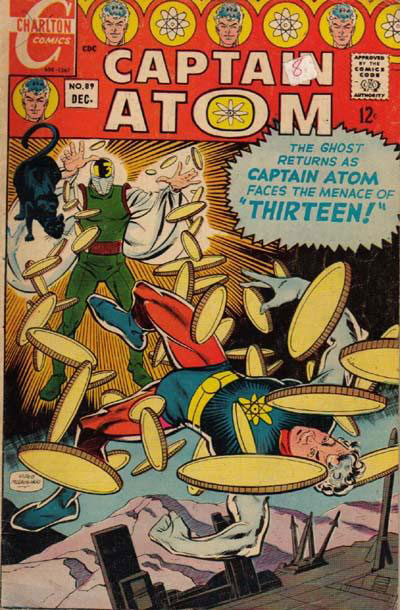 Captain Atom Vol. 1 #89, the last Silver Age issue