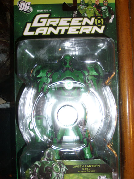 Green Lantern Stel Action Figure