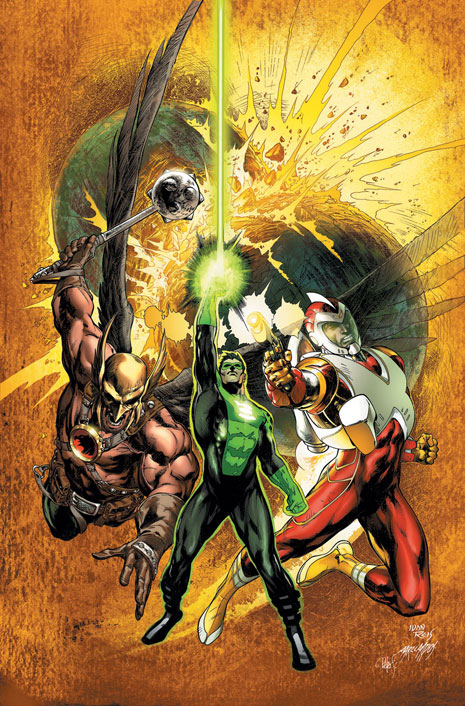 Cover to Rann-Thanagar #1