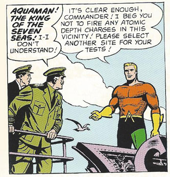 Aquaman meets the Navy